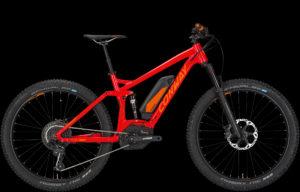 E-bike Conway EMF-527 plus rossa 2017